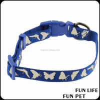 dog Pets Collars Adjustable Polyester Pet Dog Cat Puppy