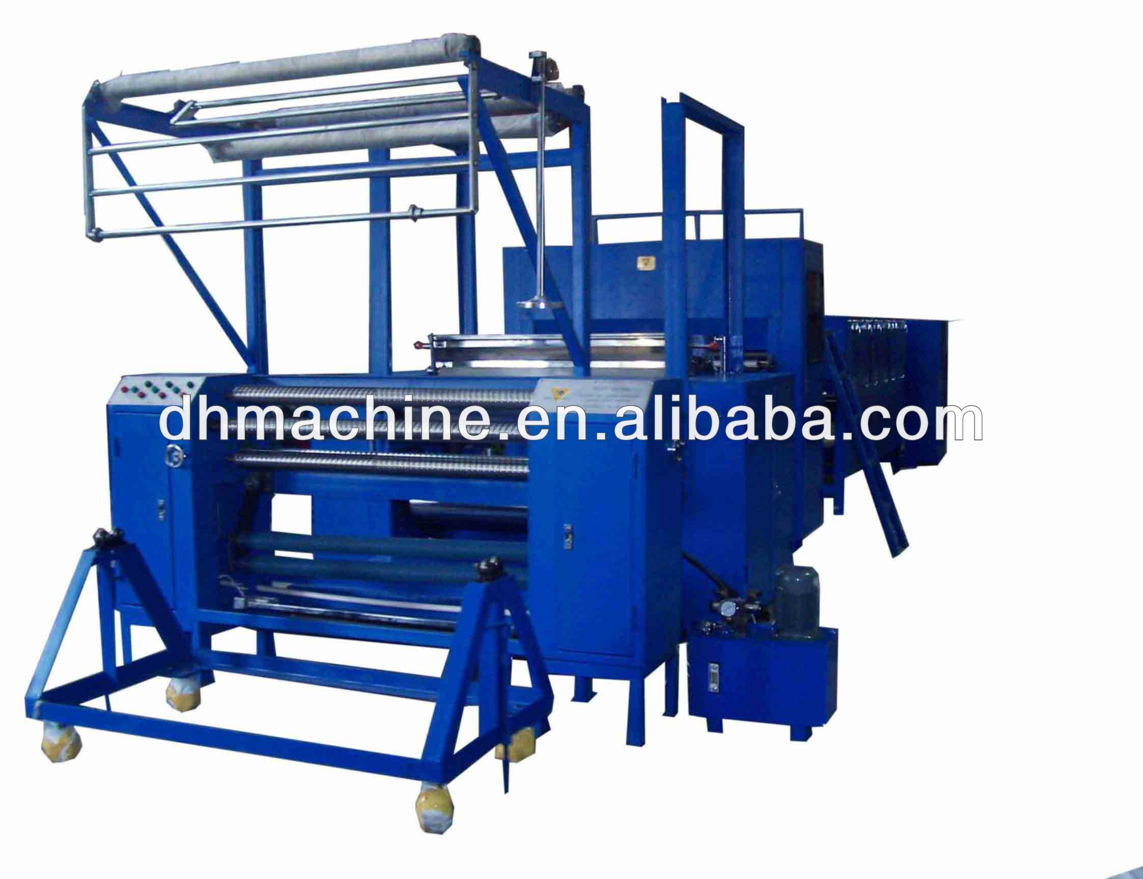 powder dot and scattering coating interlining machine