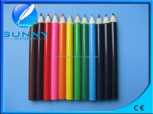 wholesale3.5'' environmental cute mini color pencil for children