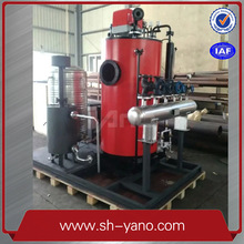 YANO 300KG/HR Verticle Gas Fuel Steam Boiler For Food Industry Exports to the United States