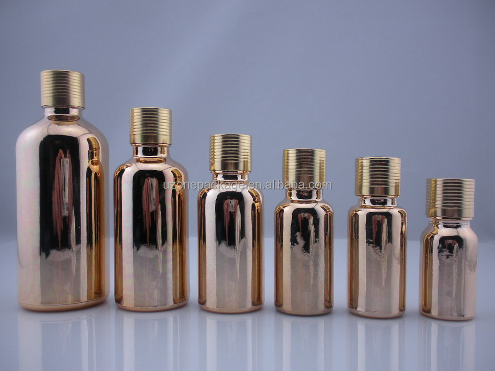 Glass essential oil dropper bottles