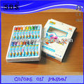 18 color oil pastel children stationery set