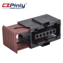 6 pin female tyco accelerator pedal waterproof automotive electrical connector 6-929264-2/6-929265-2