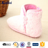 American style cosy lady warm indoor boots