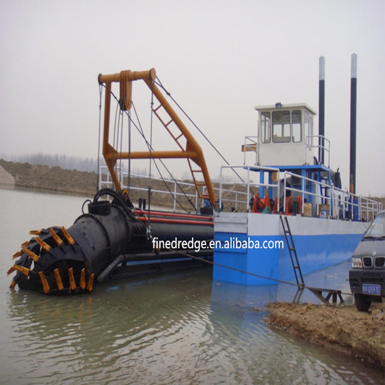 24 inch RIver Cutter Suction Sand Dredger for Coastal Construction