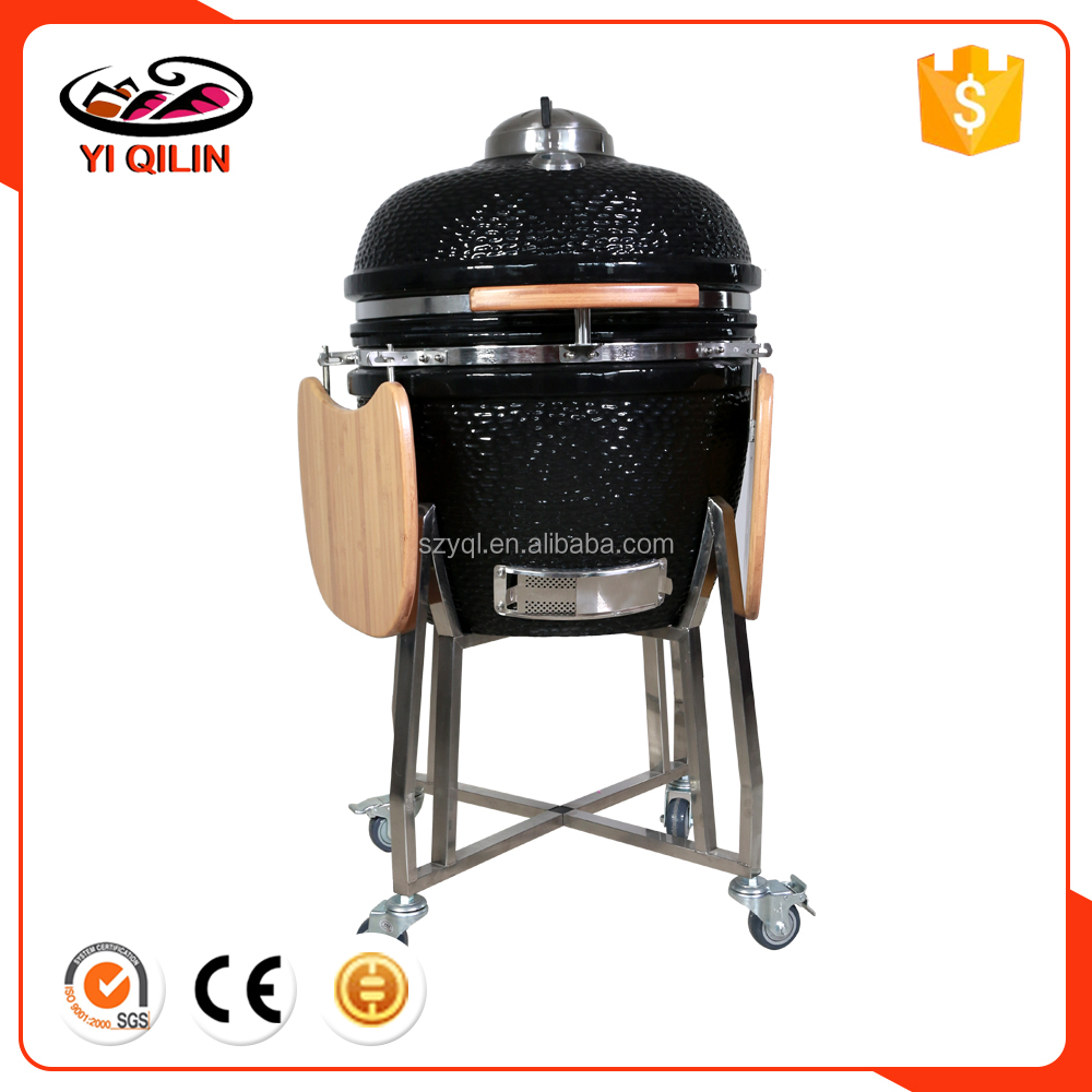 YQL 22 Inches Outdoor Cooking Barbecue Equipment BBQ Keramik