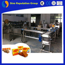Dressing cube dressing making line