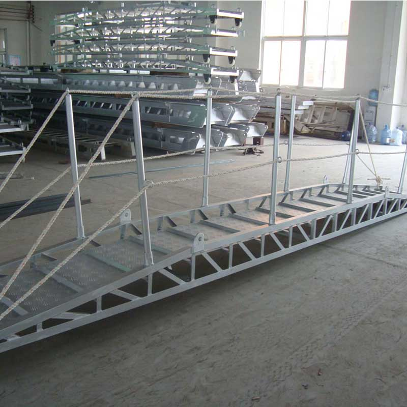 BOCHI Customized Aluminum CCS Dock Ladder for Ship