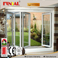 Manufacturer professional aluminum accordion sliding folding door