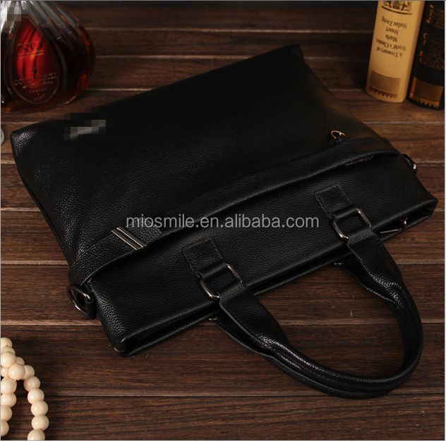 S30249H Hot Sale Mens Leather Shoulder Briefcase Casual Laptop Business Messenger Bag