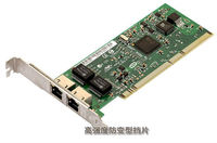 Intel 8492MT PRO/1000MT Dual Port Server Server PCI/PCI-X Adapter Network Card with Low profile Bracket