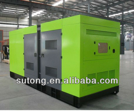 600kva Soundproof Deutz diesel generator without canopy