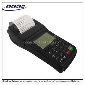 GOODCOM GT6000G portable pos 3G GPRS SMS restaurant ticket pos 3g thermal printer