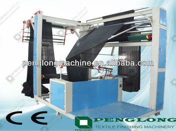 Automatic Fabric folding and stitching machine