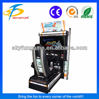 32 inch Initial D Arcade Stage 4 video game arcade machine manufacturer