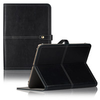 C&T Faux Leather Case with Clasp for 7 Inch Tablets