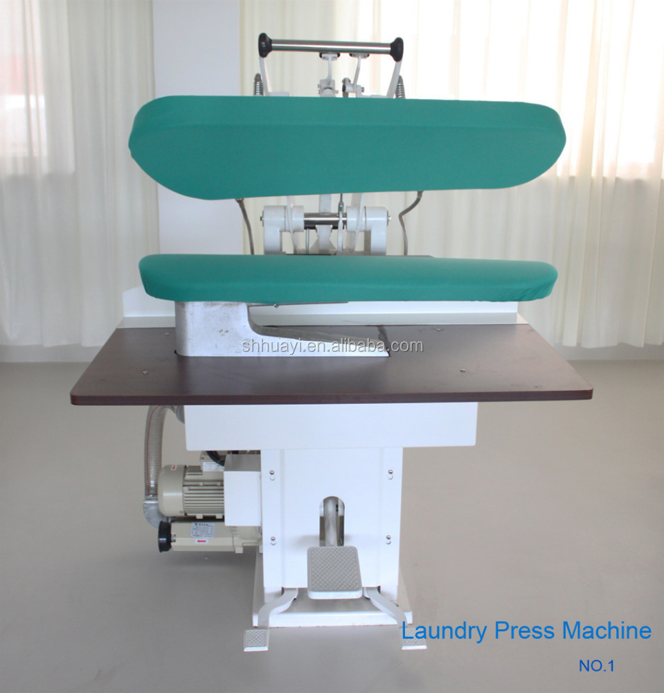 Laundry utility press machine