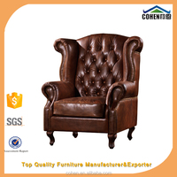 hot sale elegant tufted antique chair styles for home furniture