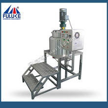 FULUKE Stainless Steel Electric Heating Chemical Mixing Tank/Liquid Soap Mixing Machine