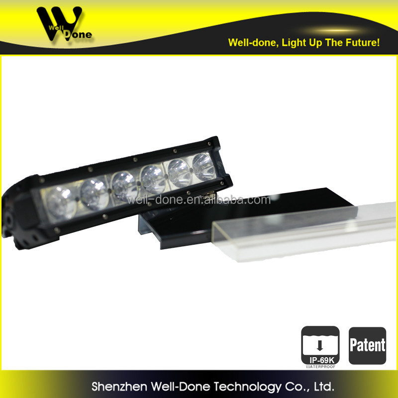 ISO9001 & TS16949 certificated factory direct offer Oledone HOT patented IP69k 60W Truck LED bar light