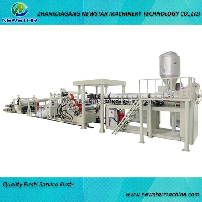 Industry plastic sheet film board extrusion product line PE PP Sheet Production Line