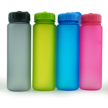 Protable running sport water bottle frosted 600ml