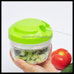 Amazon Supplier Hand Pull Chopper, Food Processor with FDA LFGB ROHS certificate Vegetable, Fruit, Garlic