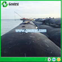 PP/PET woven geotextile tubes price and geotextile bag for river bank