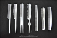 Private Logo Personalized Hair Comb /Aluminum Comb / Pocket Combs