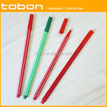 P250 wholesale plastic fine line pen for office and school, fineliner pen,liquid pen