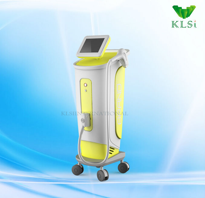 Laser diode soprano hair removal machine /painless hair permanent removal /alma laser medical device