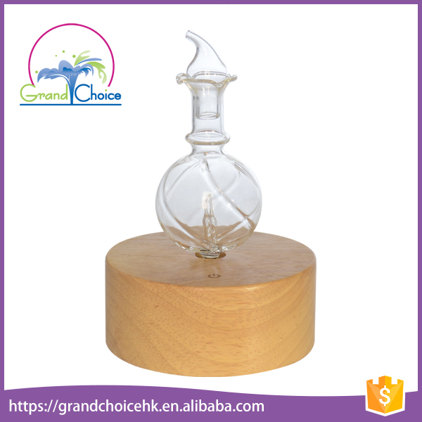 Design Elegant Glass Air Aroma Freshener Hotel Room Automatic Air Freshener Aromatic Electric Aroma Flower Diffuser