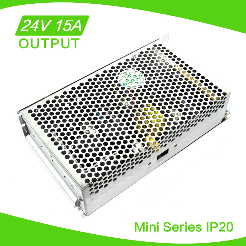 mini led transformer 12v 30a 360w led switching power supply mains power adapter