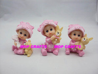 Lovely baby resin decoration-#MPBA0018
