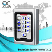 Anti-vandal case Rfid Card Door Access Control Device with keypad