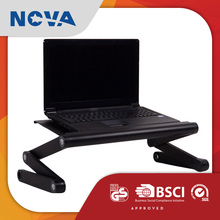 High quality vertical cooling fan lying down office lap desk