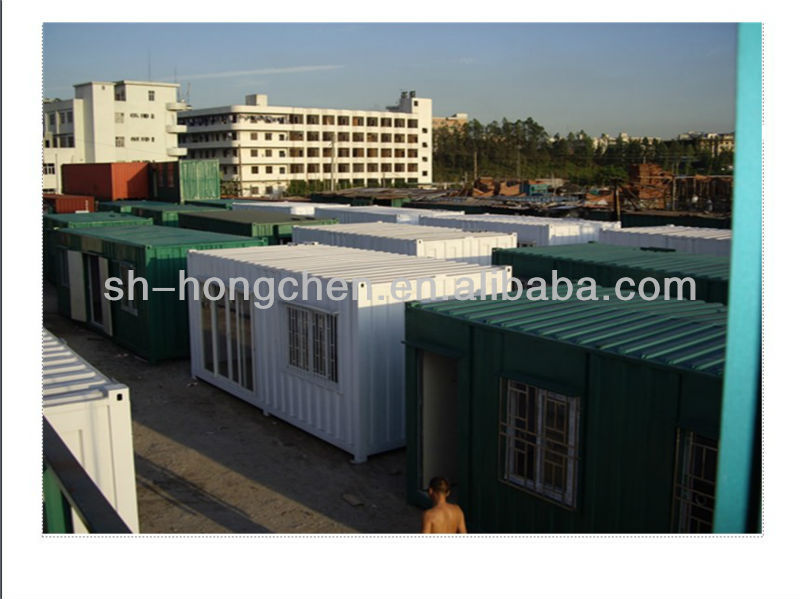 New design hot sold folding living container house steel structure house