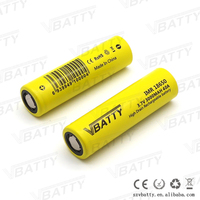 New 18650 mechanical mod battery Vbatty 18650 40amp 3000mah 18650 battery 3.7v rechargeable battery in 18650 mod