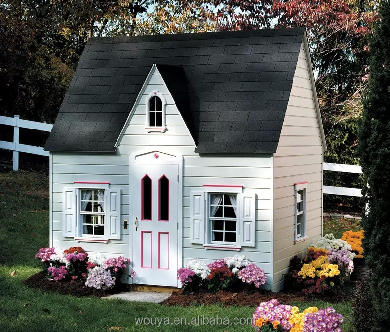 2012 worldwide hot sale wood kids house cubby house wood outdoor children house