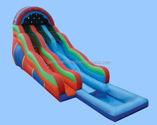 commercial material PVC inflatable slide,water slide n pool A4071