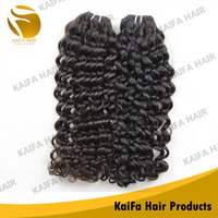 100% Virgin 5a Grade Wholesle Human Hair Curly Peruvian Hair Extension