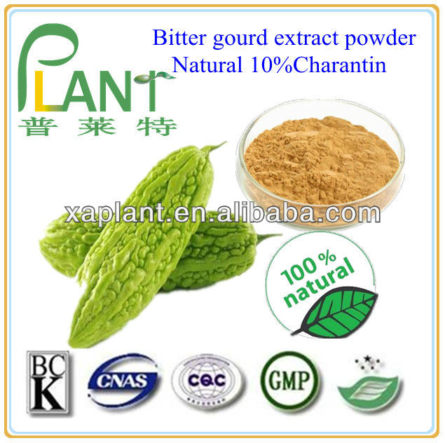 Pure bitter gourd/momordica charantia extract powder