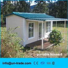 Economical and beautiful prefab house for caravan hut