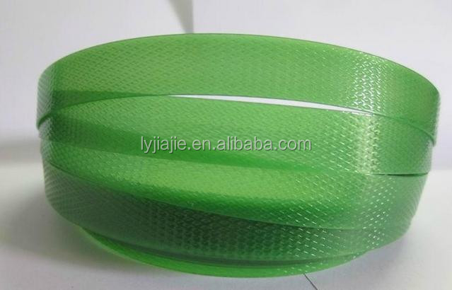 china plastic cloth strapping with high tension