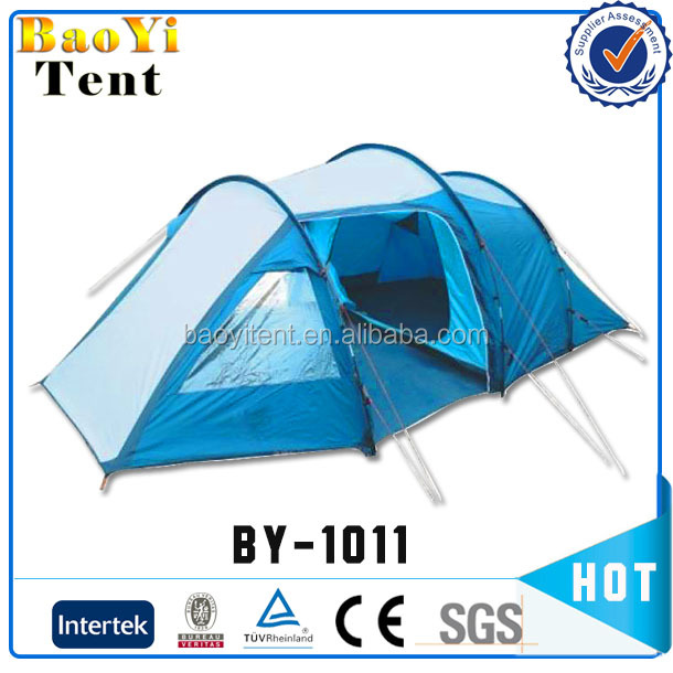 Camping tunnel tent