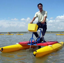 China supplier aqua bike adult water bike for sale sea water pedal bicycle