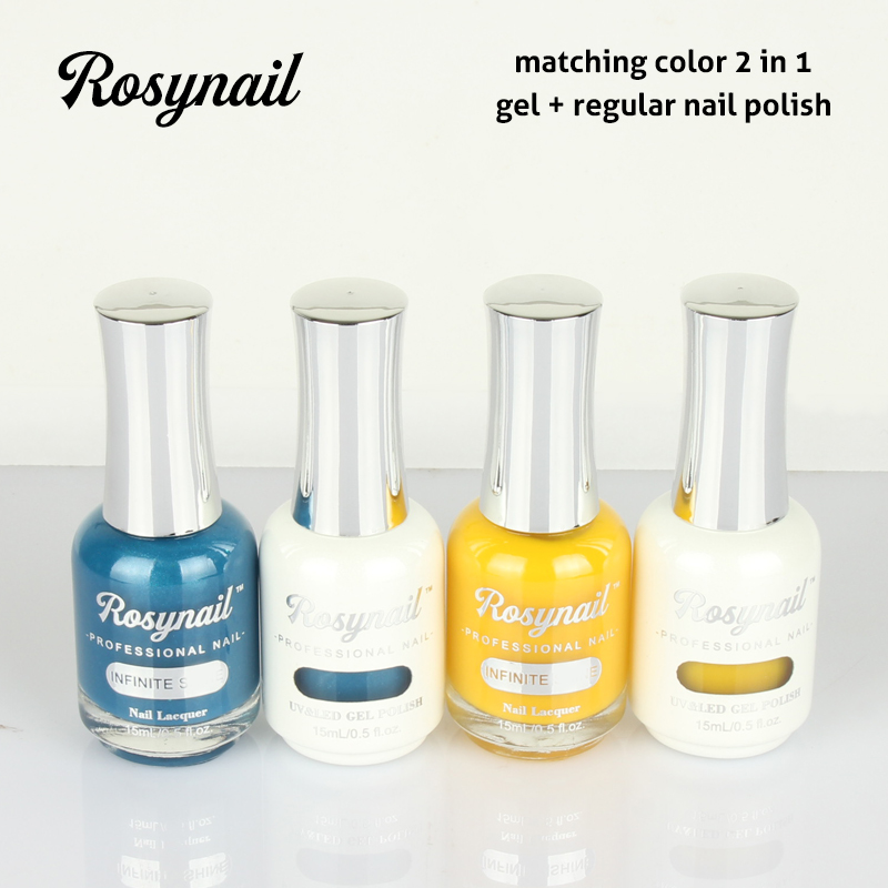 Free Sample Nail Polish UV Gel Matching Colors Gel Nail Polish Starter Kit