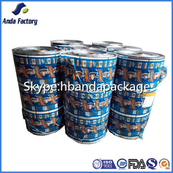 printed plastic popsicle wrapper/ candy wrapper/ film roll