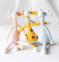 Factory Handmade Amigurumi animals crochet Stuffed toy