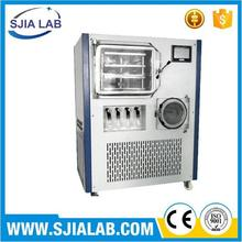 small stainless steel food freeze dried machine/dried fruit,vegetable,herbs,meat vacuum drying machine/0086-15869641262